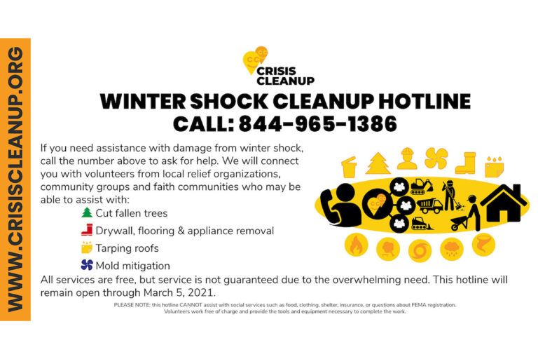 Crisis Cleanup Information